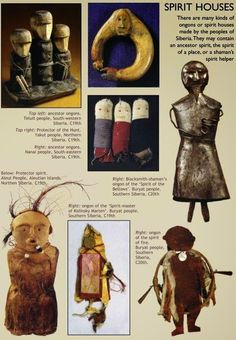 Ongon- Spirits figures in Buryat shamanism.  There is a special way of depicting each spirit using standard materials and designs and hence like a language. The practice of making ongon constitutes a system of communication which conveys a great many complex ideas with rather few elements, ordered by specific rules.