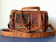 Brand New Handmade Persian Kilim tote bag with adjustable shoulder strap.$85.00