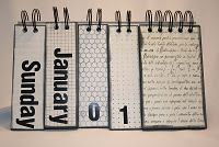 DIY Perpetual Calendar. Think I'm gonna make this for my desk at work.
