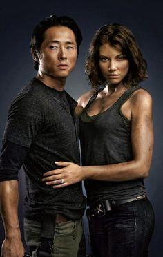 The walking dead, Glenn and Maggie <3