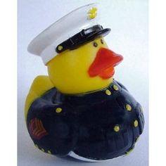 Marine rubber duck!