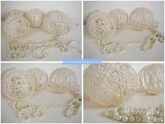 Diy Tutorial how to make cotton balls jak zrobic kule cotton balls? krok po kroku diy