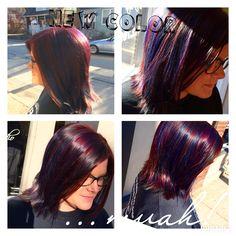 All angles. Hair by Nichole at NC Hair Studio