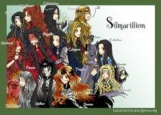 Герои Сильмариллиона     Silmarillion by Windrelyn on DeviantArt