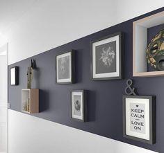 Une décoration galerie d'art pour donner du cachet à votre intérieur. © Castorama