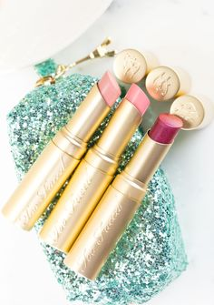 Too Faced La Petit Tresor La Creme Lipstick Trio