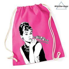 Audrey Botoxgirls Beutel in #pink #hipster #rocknroll #rockabilly #baumwolle #cotton #organic #botox #no #statement
