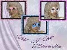 Glitz~N~Glam for Behind the Mask *Exclusive* [masks/ofw] - $5.00 : Fantasies Realm Market!, Quality and affordability!