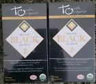 ♮♯ Touch Organic BLACK TEA  LOT OF TWO  24  TEA BAGS EACH http://ebay.to/2cyI7nc