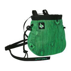 Walnut Chalkbag.  Green.  HippyTree.