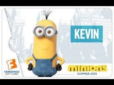 """This is a simple lesson for kids. They can learn how to draw a minion """"Kevin"""" with the simple shapes : oval, rectangle, circle...  You can teach your kids to draw a minion, it's very simple. Try it!"""
