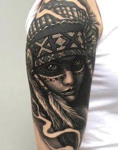 Native American  Tattoo - 70 Native American Tattoo Designs