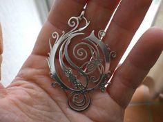 Opeth silver Pendant