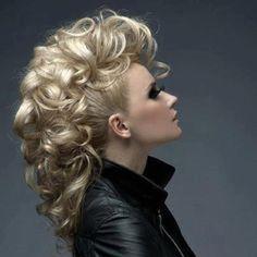 updo for long hair mohawk | Women Hairstyles Ideas