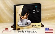 blu cigs flavor cartridges - Java Jolt - $12 for 5-pack  With a warm, inviting aroma and an unmistakable coffee bean taste, Java Jolt e-cig flavors evokes the laidback rhythm of coffeehouse culture and quaint sidewalk cafés. Sit back and sip a cup of refined medium-roast espresso beans, slow-brewed to piping hot perfection. Always good to the last drop, Java Jolt is pure robust e-cigarette flavor that any discerning coffee connoisseur will love.
