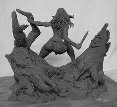Dynamic Forces: Frank Cho's Jungle Girl by Joy and Tom Studios - Statue Forum