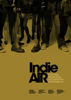 Love is Indie Air Festival / Ad2 by MARIN DSGN