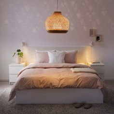 MISTERHULT Hanglamp - bamboe - IKEA Make A Lamp, Clear Light Bulbs, Ikea Family, Bamboo Plants, Bamboo Lamp, Led Ceiling Lights, Ceiling Lights For Bedroom, Ikea Wall Lights, Ceiling Lamps