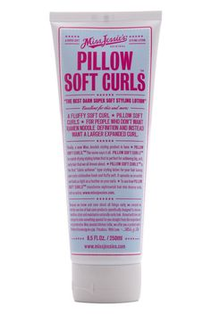 Miss Jessie's Pillow Soft Curls, $22, The lightweight texture of this softening lotion makes it super easy to smooth through even the thickest hair—which you'll want to do every day once you see the silky, fluffy, static-free results of this classic formula.