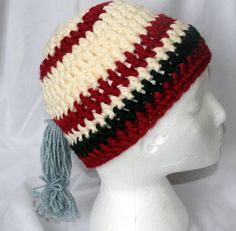 Ponytail beanie. Room for your ponytail while you keep your head warm in the winter!