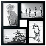 Early Bird Special: Malden 4x6 4-Opening Collage Matted Picture Frame - Displays Four 4x6 Pictures - Black  List Price: $12.99  Deal Price: $10.47  You Save: $2.52 (19%)  Malden 4 Opening Collage Matted Picture  Expires May 3 2018