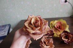 """Роза сорта """"Золотая осень"""" - Ярмарка Мастеров - ручная работа, handmade"""