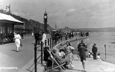 Dorset, Weymouth Esplanade 1923