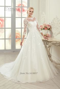 Cheap dress ballet, Buy Quality dress breast directly from China dress pregnancy Suppliers: Welcome to Our StoreModest Elegant Lace Wedding Dress 2015 Vestido de Noiva Casamento Mermaid Bride Dre