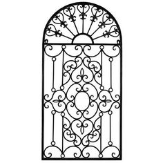 Metal Gate Wall Art Dunelm