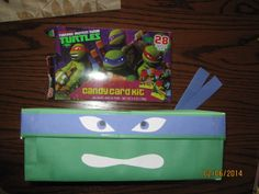 Ninja Turtles valentine box