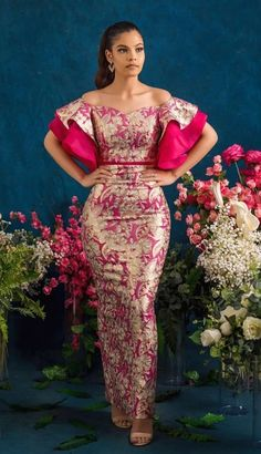 2019 Latest and Classy Asoebi Styles - Naija's Daily - - African Fashion Dresses Ankara Source by africaprintshop African Wear Dresses, African Fashion Ankara, Latest African Fashion Dresses, African Print Fashion, African Attire, Modern African Fashion, Latest Outfits, Lace Dress Styles, Ankara Dress Styles