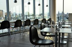 blue (restaurant at shopping center Kalvertoren 3rd floor, Amsterdam)