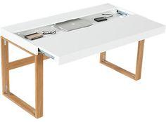 Torino Desk/Table - modern - desks - by CB2