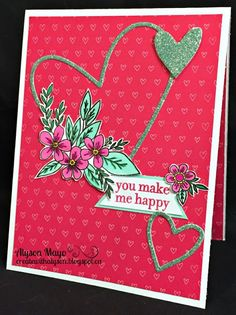 Create with Alyson: January Stamp of the Month Blog Hop - Adore You