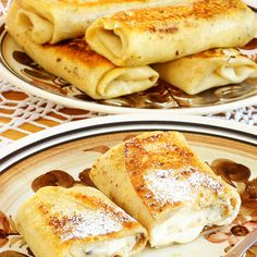 Yummy Cheese Blintzes Recipe from The Bakers Dozen