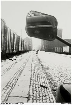 Robert Frank, NYC on 33rd and 11th Ave, 1949