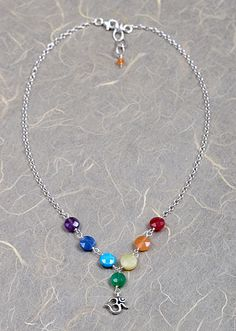 Love this chakra necklace.