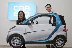 Wiens Vizebürrgermeisterin Vassilakou und car2go Europe CEO Stefan Mueller