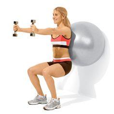 A Killer Exercise Ball Workout