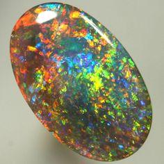 Edelstein Bild: Opal oval 14x9mm