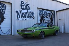 71 Dodge Challenger  Gas Monkey
