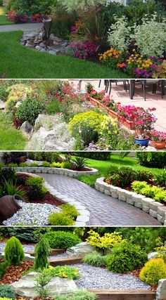 Get inspired by our favorite landscaping designs and ideas #garden #landscaping #frontyard #homedecor