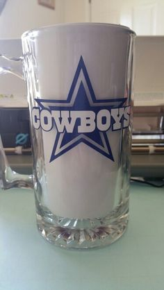 Dallas Cowboys beer mug