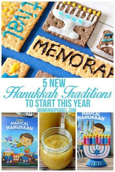 Start a new Hanukkah tradition this year with your family! Try new recipes, new … Start a new Hanukkah tradition this year with your family! Try new recipes, new Hanukkah stories, and new Menorahs for a fun, meaningful celebration. Hanukkah Crafts, Hanukkah Food, Feliz Hanukkah, Hanukkah Decorations, Hannukah, Happy Hanukkah, Hanukkah Recipes, Jewish Recipes, New Recipes