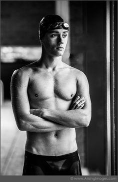 Senior Portrait / Photo / Picture Idea - Guys / Boys - Swimming / Swimmer