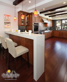 Creative Ways to Give Your Floors a New Look For those who have outdated flooring in their home, you can easily remedy this situation with the Engineered Bamboo Flooring, Cherry Hardwood Flooring, Living Room Hardwood Floors, Mahogany Flooring, Cherry Wood Floors, Living Room Wood Floor, Maple Floors, Parquet Flooring, Wood Floor Colors