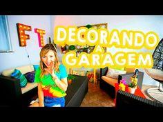 DECORANDO A GARAGEM PARA O VERÃO + TOUR! - YouTube