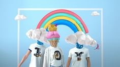 Our first project for Passion Pictures Australia! Chinese apparel giant Meters/Bonwe has released a three-part campaign to launch its new line of alphabet tees made in collaboration with Disney. We worked along Anomaly Shanghai worked with P. Shanghai, Passion Pictures, Bold Colors, Colours, 3d Animation, 3d Design, Live Action, Motion Graphics, Disney