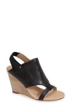 Koolaburra 'Perez' Slingback Leather Wedge Sandal (Women) available at #Nordstrom