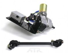 This power steering system was specifically engineered for the Yamaha Rhino using the latest in automotive electric power steering technology. Polaris Utv, Polaris Ranger, Utv Accessories, Can Am Commander, Utv Parts, Diy Car, Electric Power, Performance Parts, Atv